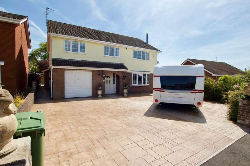 5 Bedrooms Detached House for sale in The Briars, Magor, Magor, NP26
