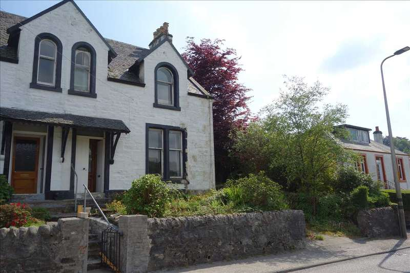 3 Bedrooms Semi Detached House for sale in Wyndham Villa, Campbeltown Road, Tarbert