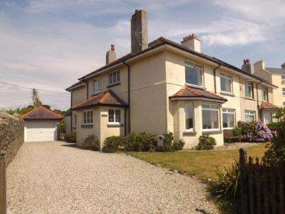 4 Bedrooms Semi Detached House for sale in West Parade, Criccieth, Gwynedd, LL52