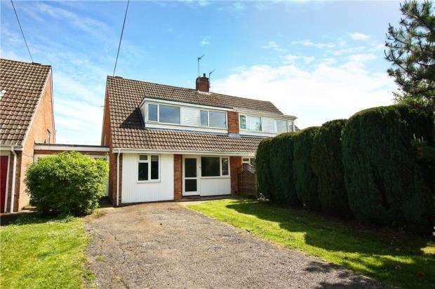 4 Bedrooms Semi Detached House for sale in Fleckers Drive, Cheltenham, Gloucestershire