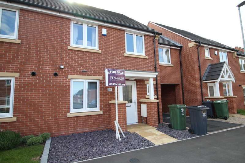 3 Bedrooms Terraced House for sale in Wilson Drive, Loughborough