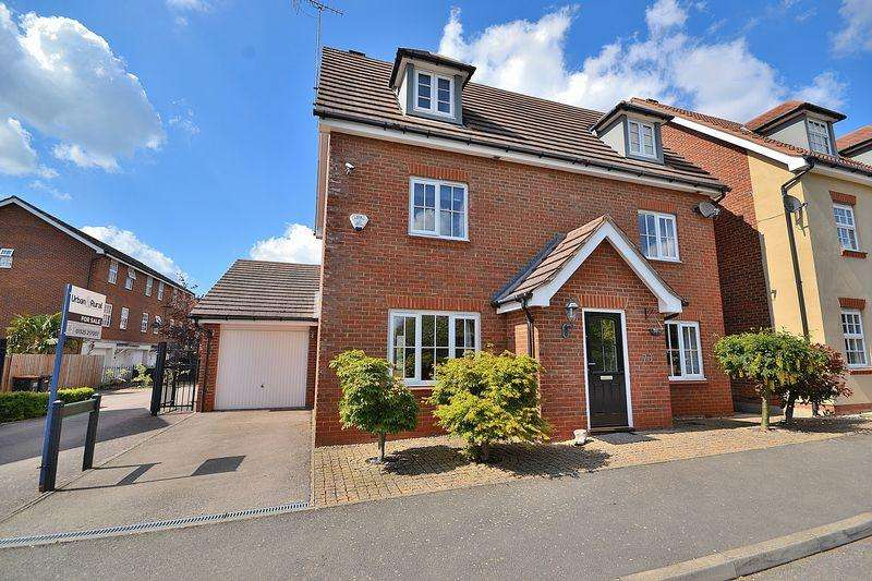 5 Bedrooms Detached House for sale in Nicolson Drive, Leighton Buzzard