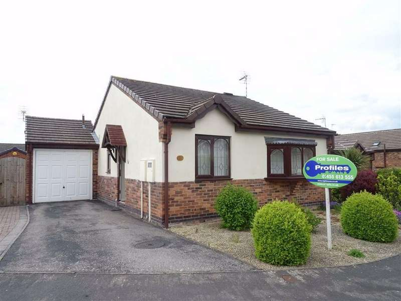 2 Bedrooms Detached Bungalow for sale in Dovecote Close, Sapcote
