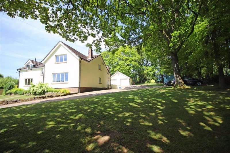 5 Bedrooms Detached House for sale in Pool Lane, Monmouth