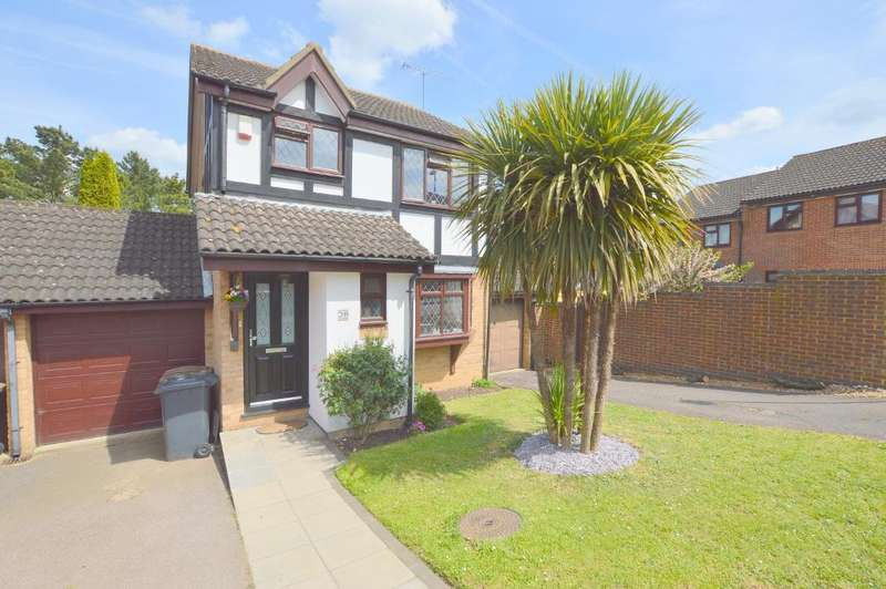 3 Bedrooms Link Detached House for sale in Reedsdale, Wigmore, Luton, Bedfordshire, LU2 9TG