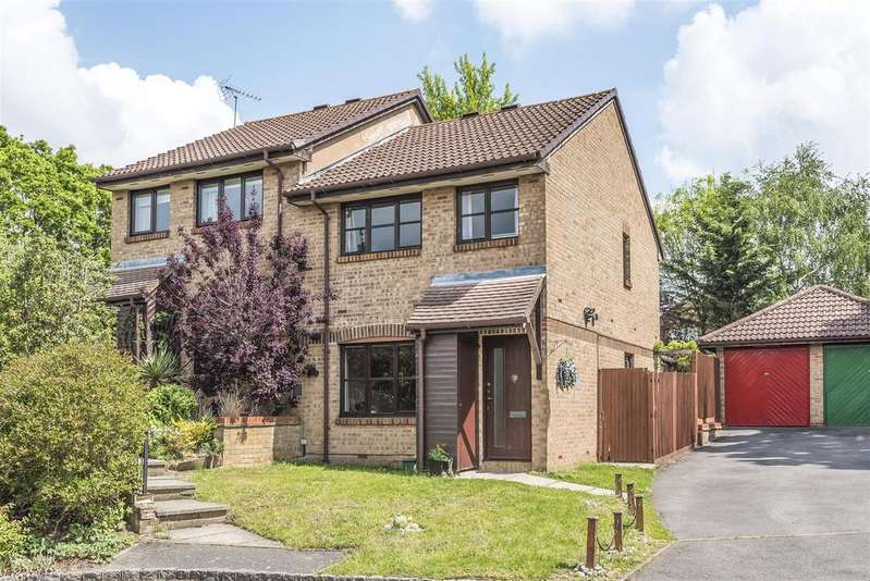 3 Bedrooms Semi Detached House for sale in Charlbury Close, Bracknell, Berkshire, RG12 9YJ