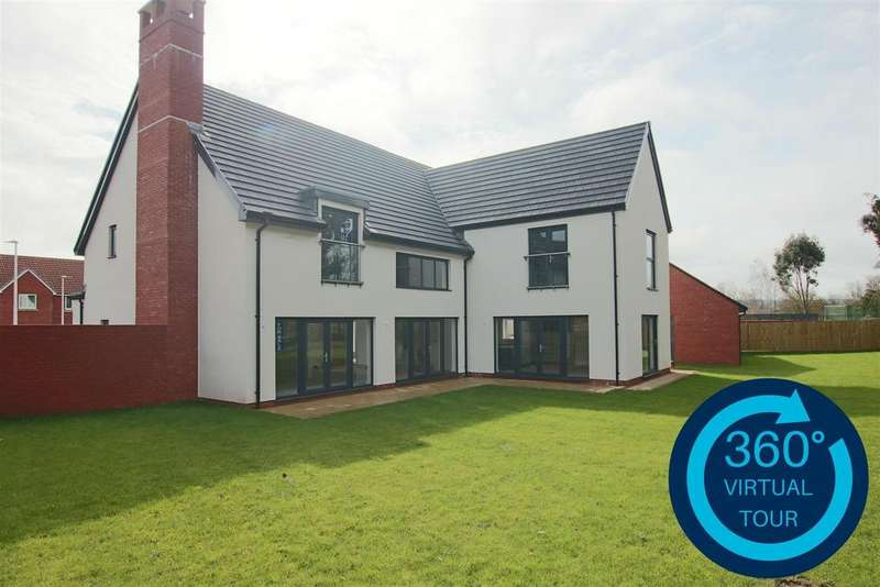 5 Bedrooms Detached House for sale in Great Woodcote Park, Off Topsham Road, Exeter