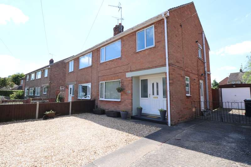 3 Bedrooms Semi Detached House for sale in Sunfield Crescent, Lincoln, Lincolnshire, LN6