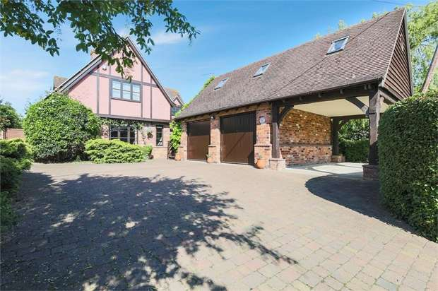 4 Bedrooms Detached House for sale in Martins Lane, Witcham, Ely, Cambridgeshire