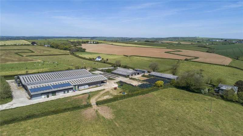 Farm Commercial for sale in Lot 1: Carwen Farm, Lanreath, Looe, Cornwall, PL13