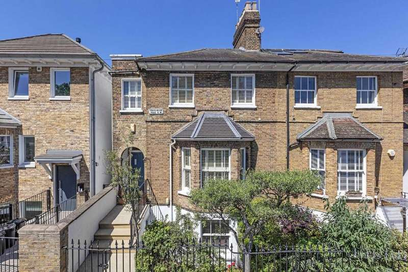 4 Bedrooms Semi Detached House for sale in Charlwood Road, Putney