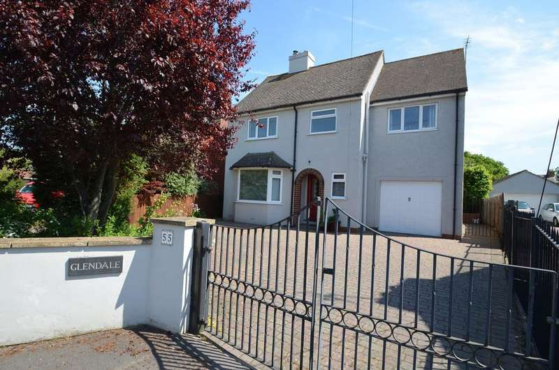 5 Bedrooms Detached House for sale in Cashes Green Road, Stroud, GL5