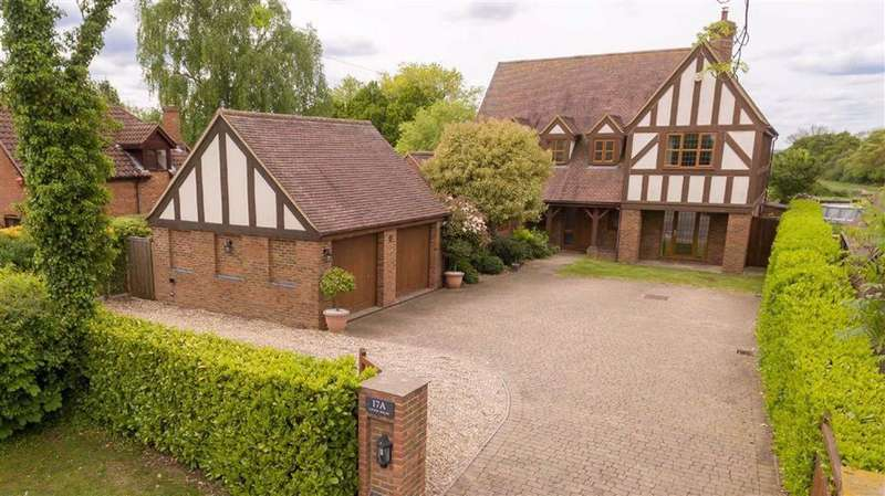 5 Bedrooms Detached House for sale in Upton End Road, Shillington, SG5