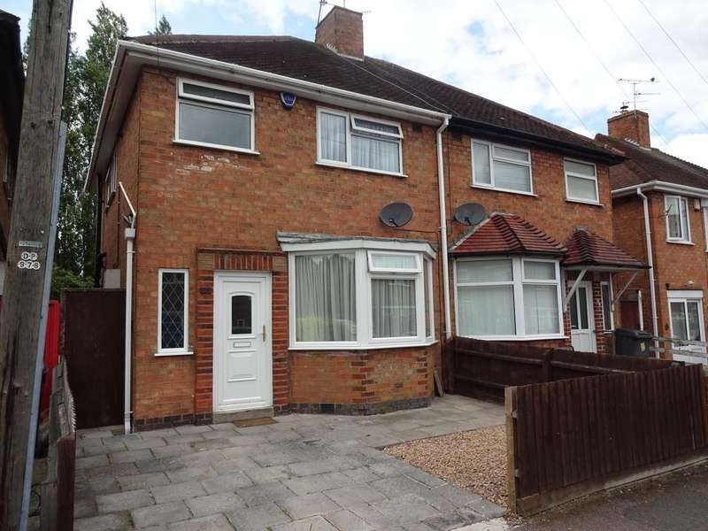 3 Bedrooms Semi Detached House for sale in Averil Road, Leicester LE5