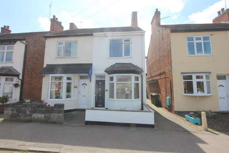 2 Bedrooms Semi Detached House for sale in Stanton Road, Sapcote