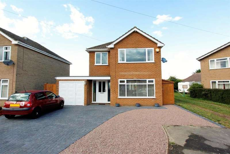 3 Bedrooms Detached House for sale in Stephenson Way, Bourne