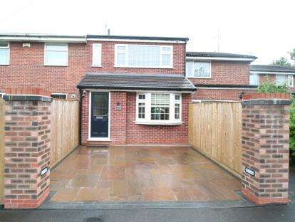 3 Bedrooms Terraced House for sale in Butterfield Close, Cheadle Hulme, Cheshire