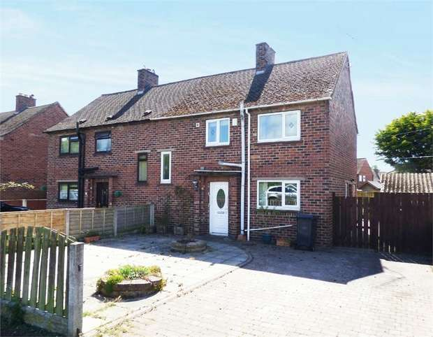 3 Bedrooms Semi Detached House for sale in Lovers Lane, Longtown, Carlisle, Cumbria