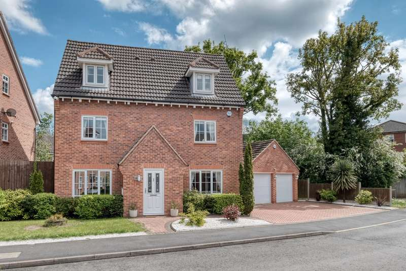 5 Bedrooms Detached House for sale in Samsara Road, The Oakalls, Bromsgrove, B60 2TQ