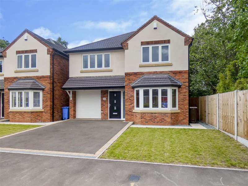 4 Bedrooms Detached House for sale in Rectory Road, Breaston