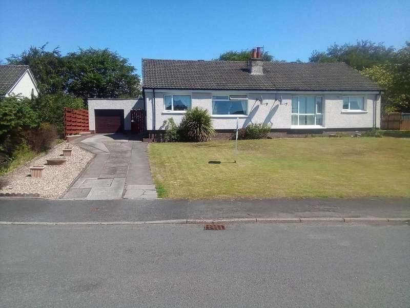 3 Bedrooms Semi Detached Bungalow for sale in 8 Provosts Loan, Millport, ISLE OF CUMBRAE, KA28 0BZ