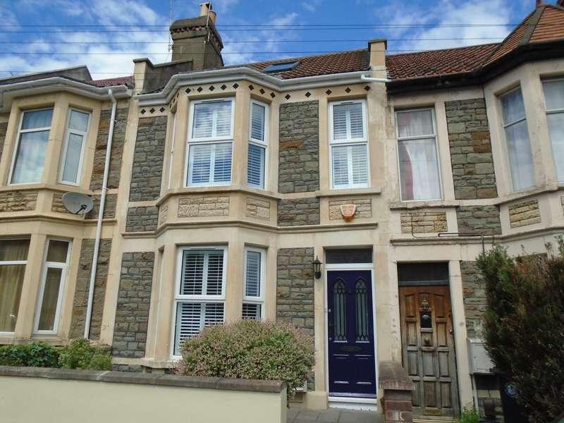 4 Bedrooms Terraced House for sale in Douglas Road, Horfield, Bristol BS7