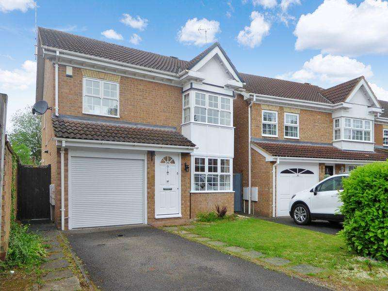 3 Bedrooms Detached House for sale in Crabtree Way, Dunstable