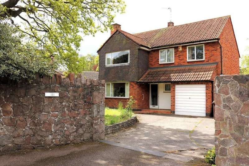 4 Bedrooms Detached House for sale in Wood Lane, Quorn