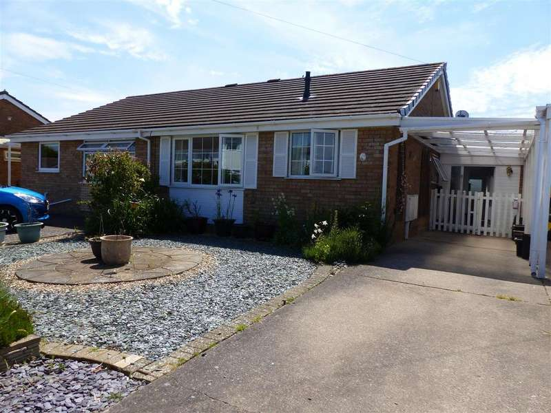 2 Bedrooms Semi Detached Bungalow for sale in Osprey Drive, Caldicot