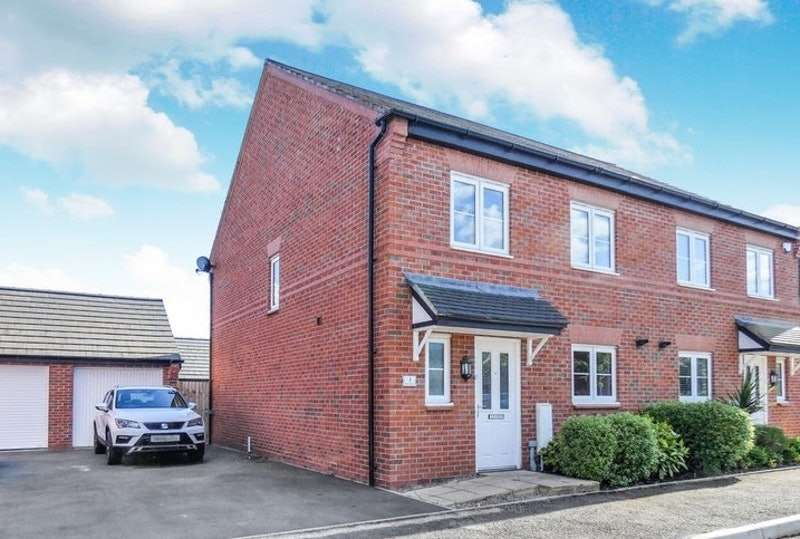 4 Bedrooms Semi Detached House for sale in Mallard Avenue, Nantwich, Cheshire, CW5