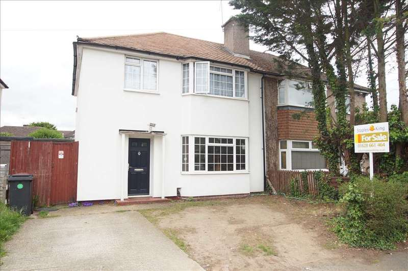 3 Bedrooms Semi Detached House for sale in Oldway Lane, Cippenham, Slough