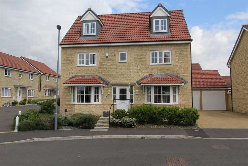 5 Bedrooms Detached House for sale in Hamilton Way, Whitchurch, Bristol, BS14 0SZ