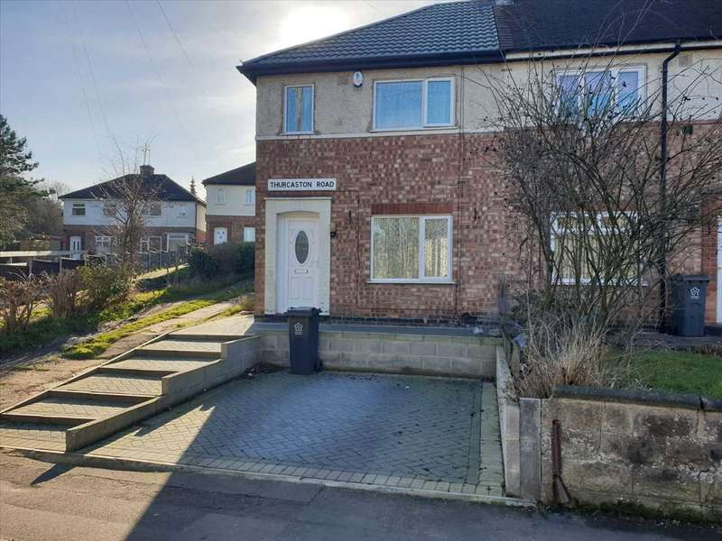 2 Bedrooms End Of Terrace House for sale in Thurcaston Road, Leicester