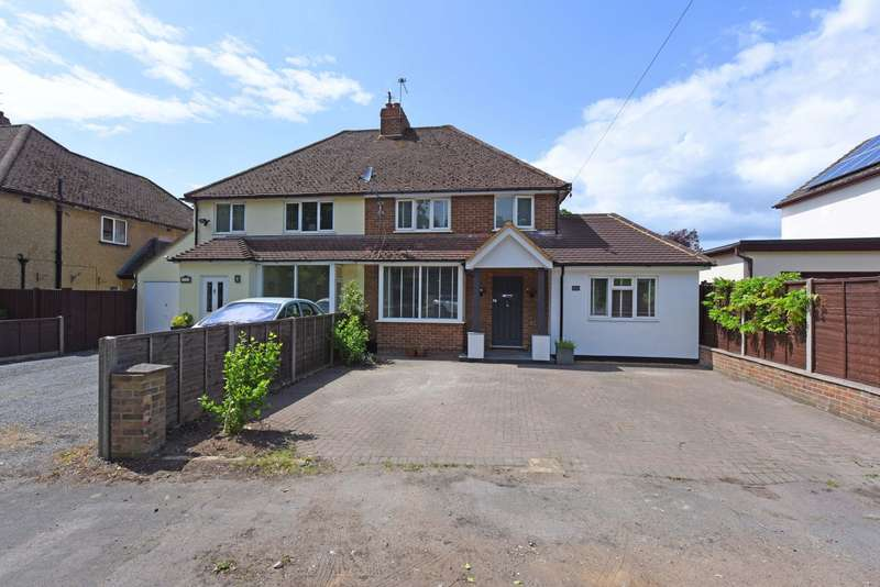 4 Bedrooms Semi Detached House for sale in Frimley Road, Ash Vale, GU12