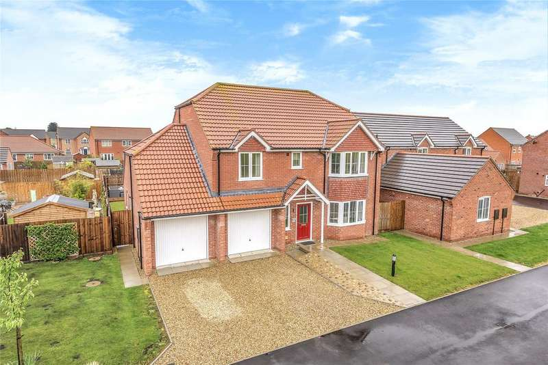 4 Bedrooms Detached House for sale in Eton Way, Boston, PE21