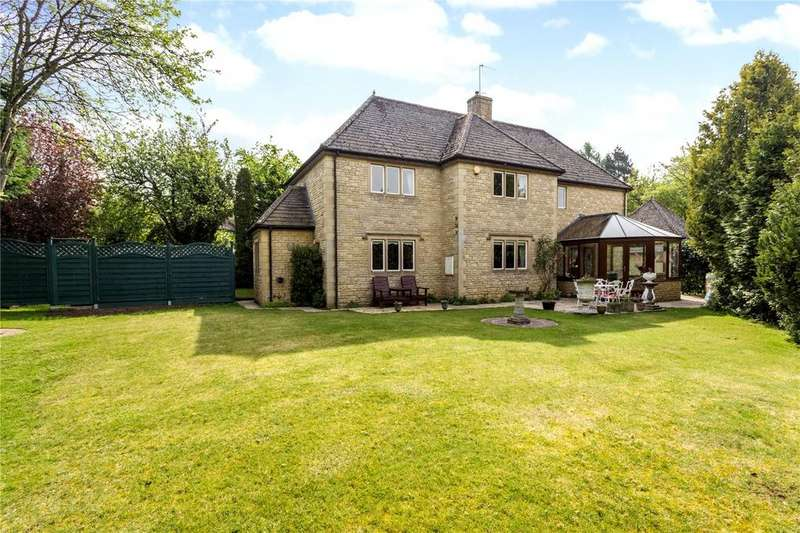 4 Bedrooms Detached House for sale in Temple Guiting, Cheltenham, Gloucestershire, GL54