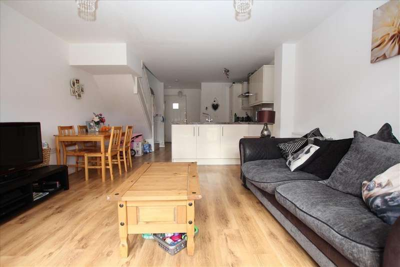 2 Bedrooms Terraced House for sale in Pople Road, Biggleswade, SG18