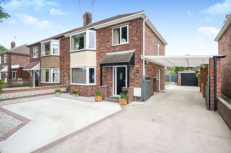 3 Bedrooms Semi Detached House for sale in Grange Crescent, Lincoln, LN6
