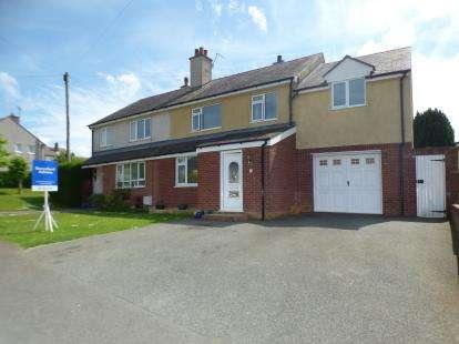 4 Bedrooms Semi Detached House for sale in Ffordd Dolafon, Llangefni, Sir Ynys Mon, LL77