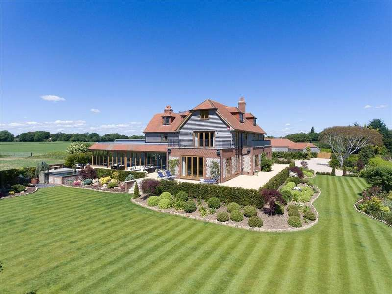 6 Bedrooms Detached House for sale in Prinsted Lane, Prinsted, Emsworth, Hampshire