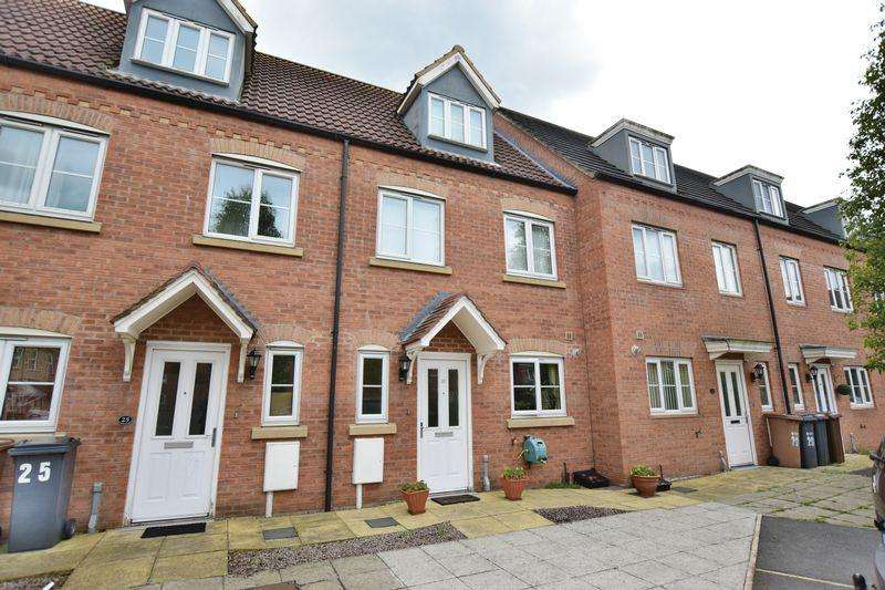 3 Bedrooms Town House for sale in Anchor Close, Lincoln