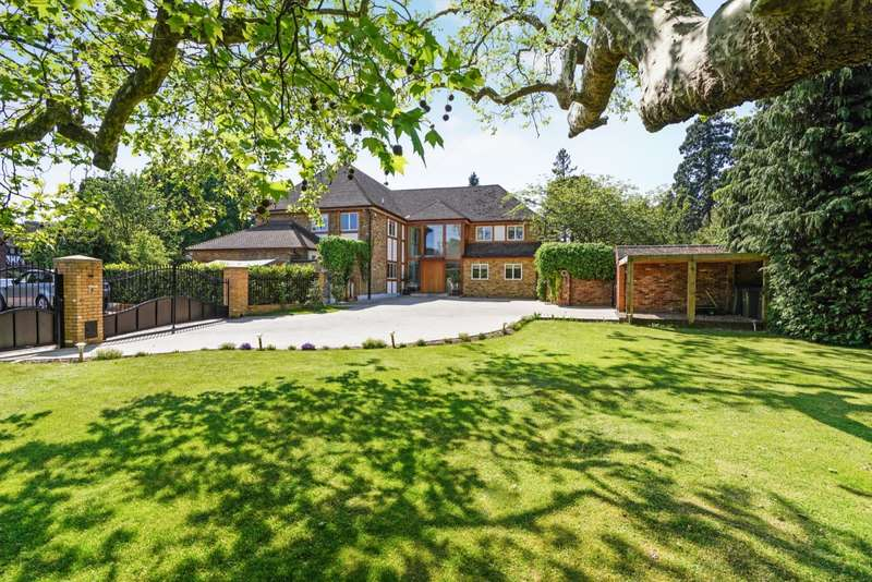 6 Bedrooms Detached House for sale in Ashley Park Avenue, Ashley Park, Walton on Thames, KT12