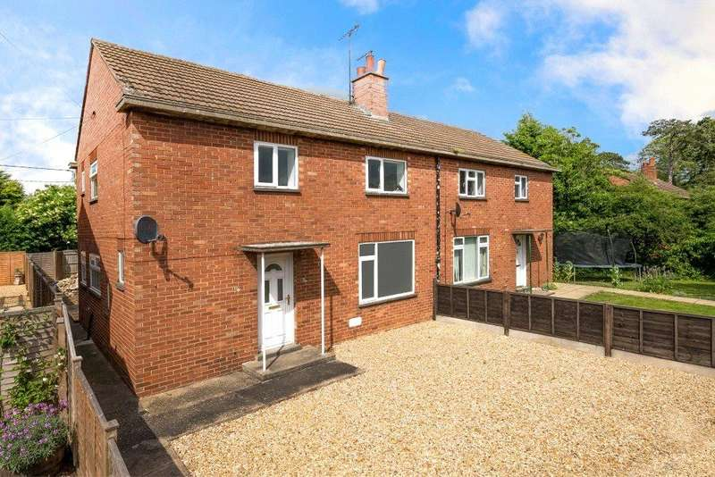 3 Bedrooms Semi Detached House for sale in Paddocks Estate, Horbling, Sleaford, NG34