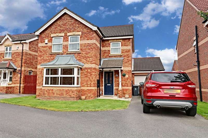 3 Bedrooms Detached House for sale in Bradgate Park, Kesteven Way, Kingswood, Hull, HU7