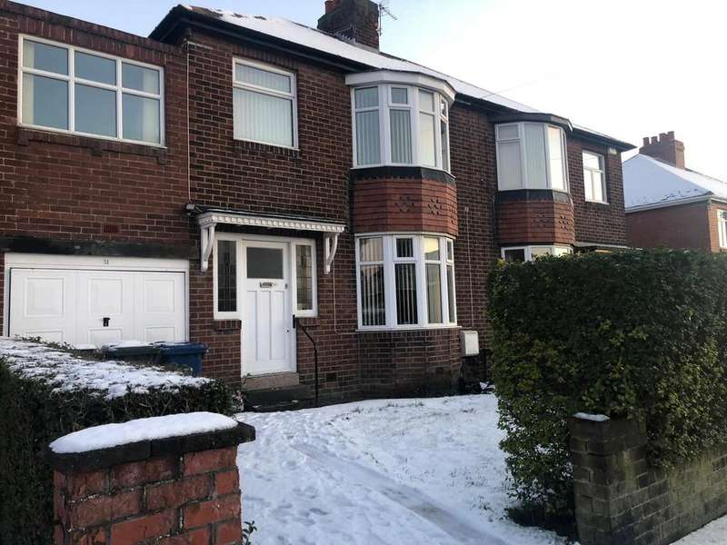 4 Bedrooms Semi Detached House for rent in Denton Burn, Newcastle upon Tyne