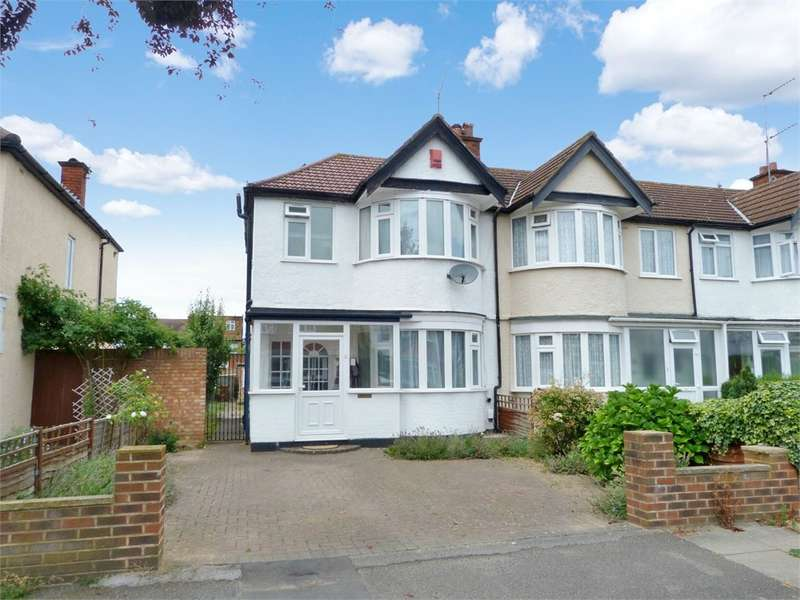 3 Bedrooms End Of Terrace House for sale in Lynton Road, HARROW, HA2