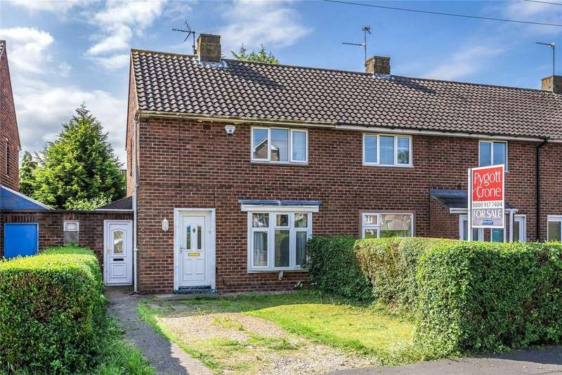 2 Bedrooms End Of Terrace House for sale in Laughton Way North, Lincoln, LN2