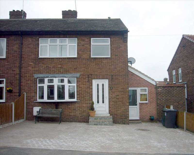 3 Bedrooms Semi Detached House for sale in Chestnut Grove, Maltby, Rotherham