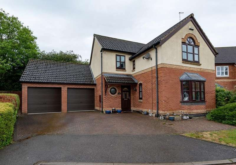 4 Bedrooms Detached House for sale in Viking Way, Thurlby, PE10