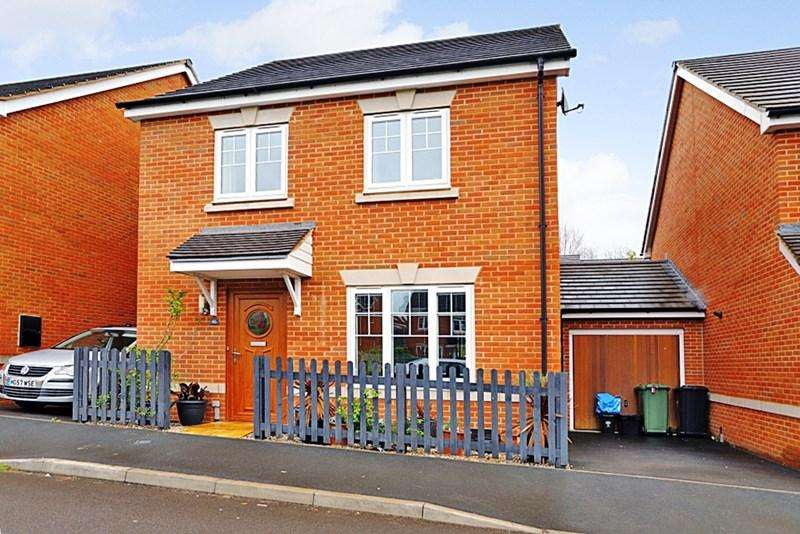 4 Bedrooms Detached House for sale in Meek Road, Newent, Gloucestershire, GL18